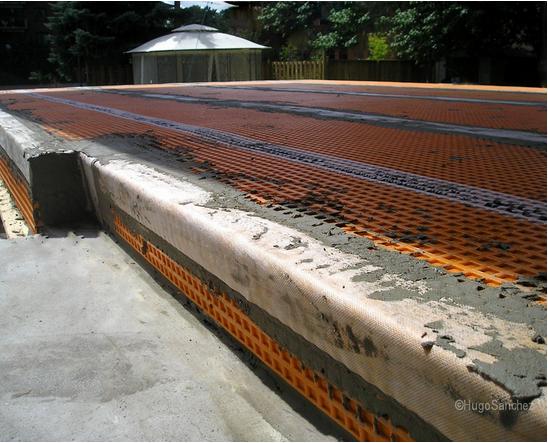 Ceramic Tile Floor Outdoor Underlay Bamboo Flooring