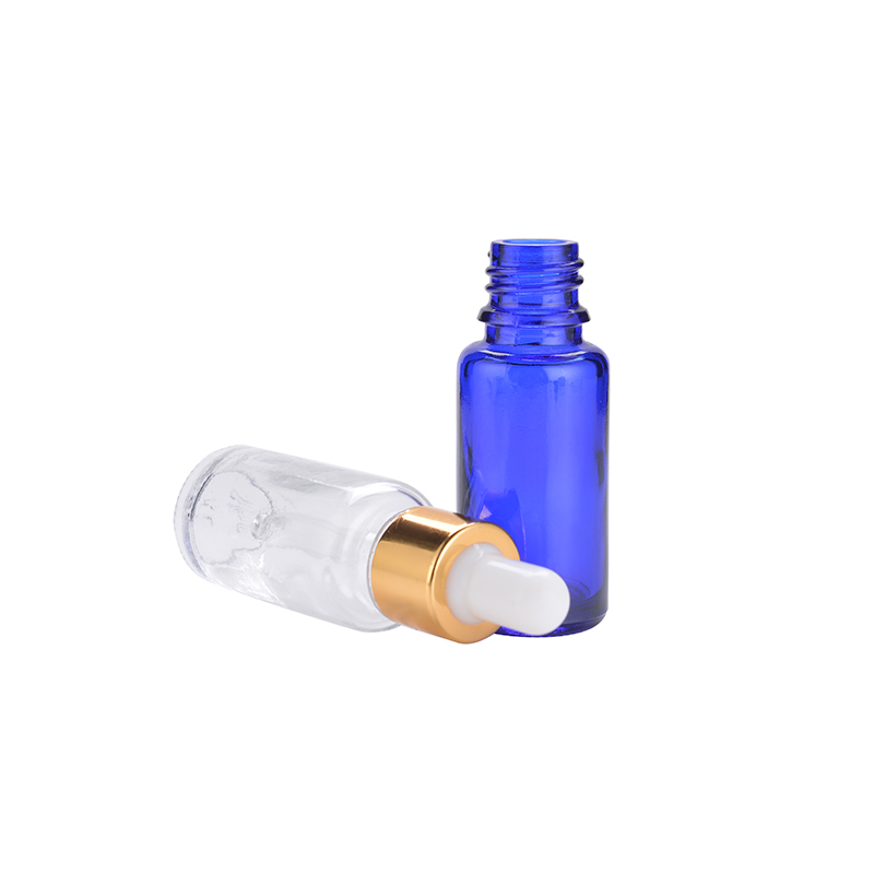 15ml cobalt blue bottle with dropper essential oil dropper bottles rose oil glass bottles