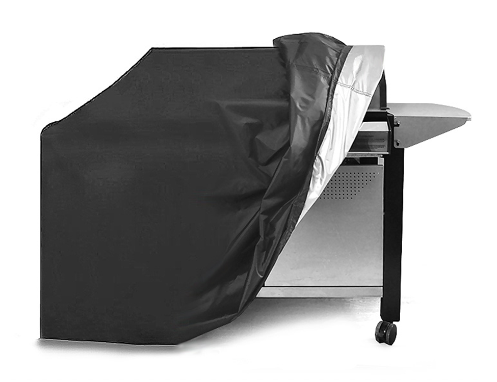 Hot Aangepaste Outdoor waterdichte barbecue cover bbq meubels Grill Oxford Stof cover