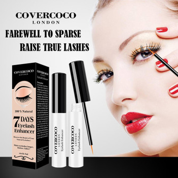 3aebc7f0902 Covercoco Fast Effective 7 Days Eye Lash Growth Serum 100% Natural Organic  Eyelash Extension Enhancer