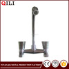 plastic bathroom hot and cold water tap mixer