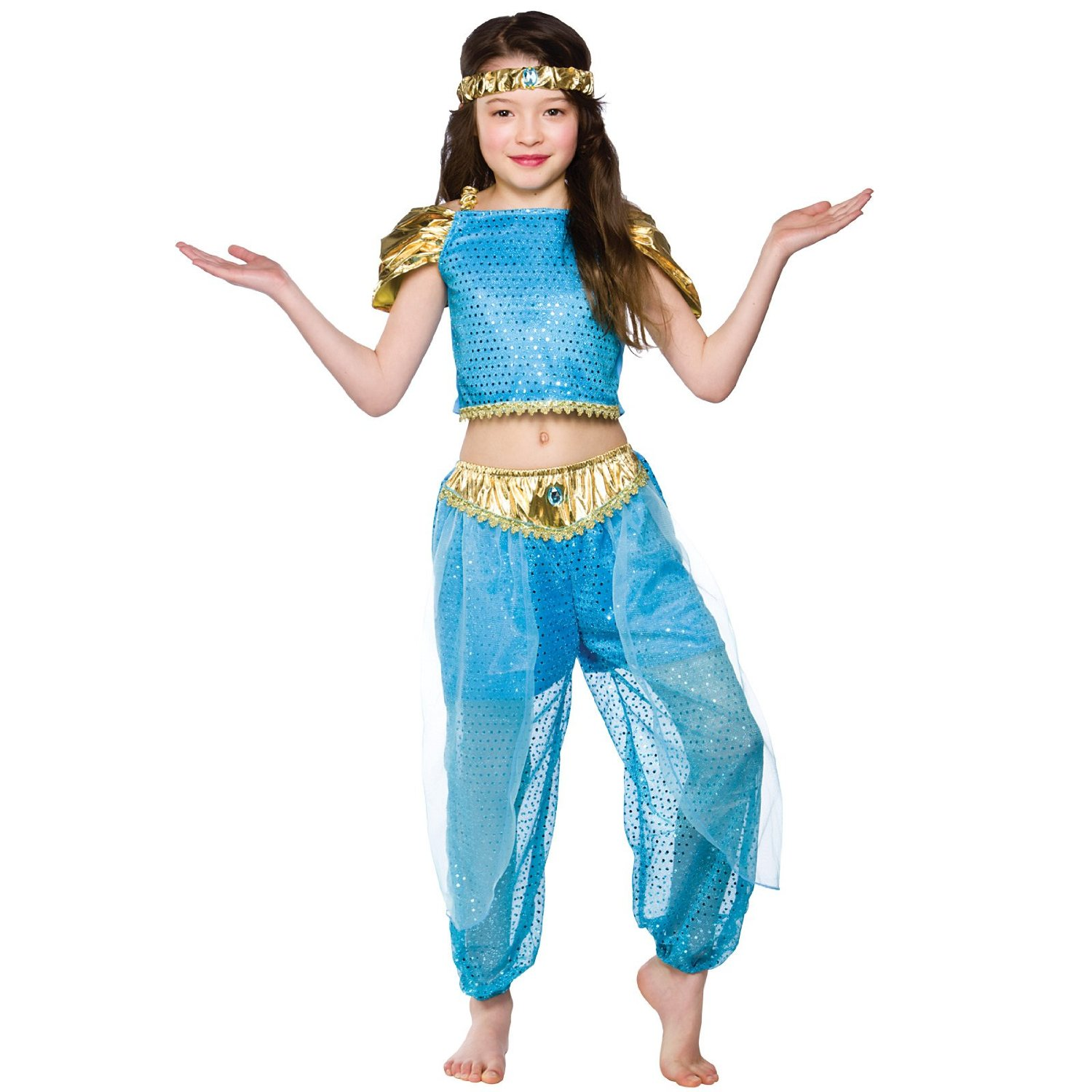 Halloween Costumes For Kids Girls 9 And Up.Buy Girls Arabian Princess Costume Fancy Dress Up Party