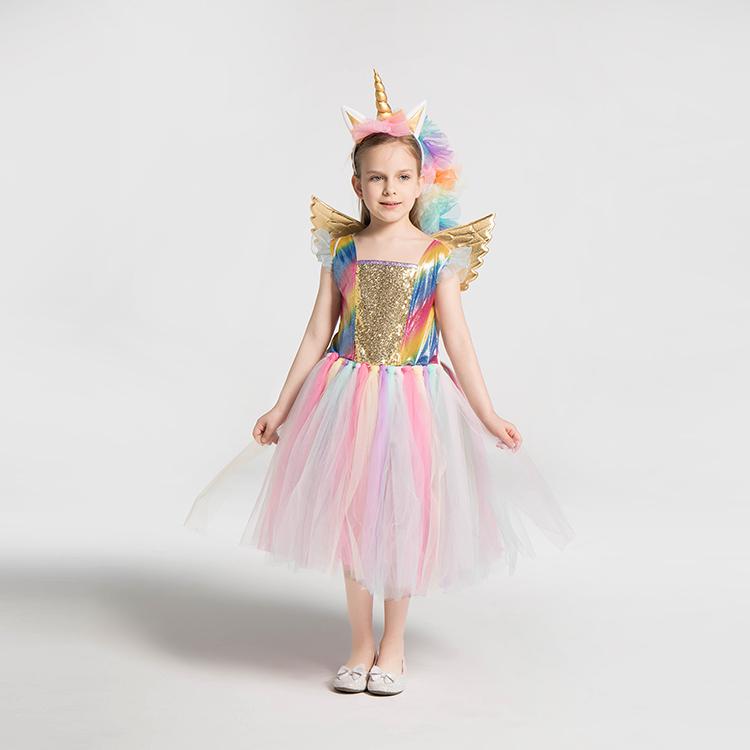 子供ハロウィンコスプレ衣装アクセサリー子供たちの羽ワンド蝶虹の翼のための妖精の羽