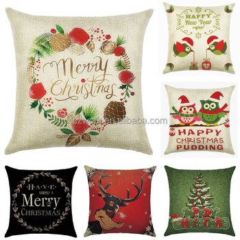 Wholesale Customized Sublimation Digital Printed Decorative Throw Pillow  Case - Buy Pillow Case,Christmas Print Cushion Cover,Custom Size Pillow  Cases