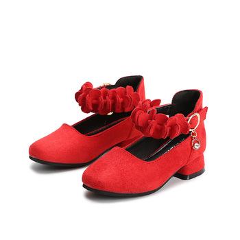 1864a7b781 Fashion Kitten Heels Kids Girl Princess Formal Shoes - Buy Kids ...