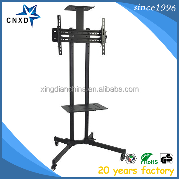 Xingdianmounts LED LCD Mobile TV Cart Stand Mount