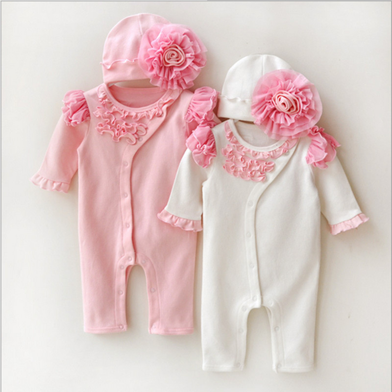 eeebb51cf Newborn Princess Style Newborn Baby Girl Clothes Kids Birthday Dress ...