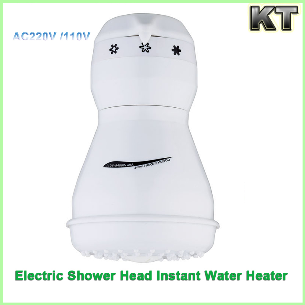 220v 110v 5400w CB Certification Wall Mounted Installation Instant electric water heater shower