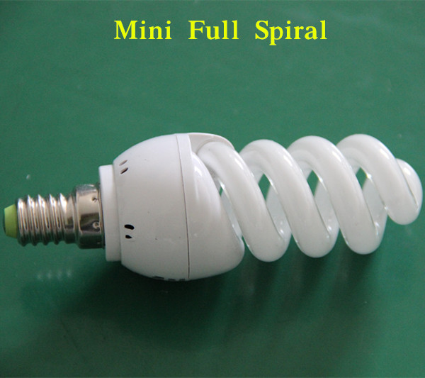 5-150W Compact Fluorescent Lamp Full Spiral Energy Save