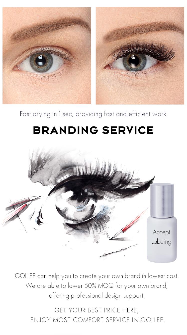 Gollee Maximum Bonding Darkness Custom Lash Blink Eyelash Extension