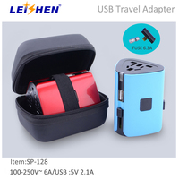OEM Logo Packing Promotional Gifts Worldwide Plugs Travel Adapter And Converter