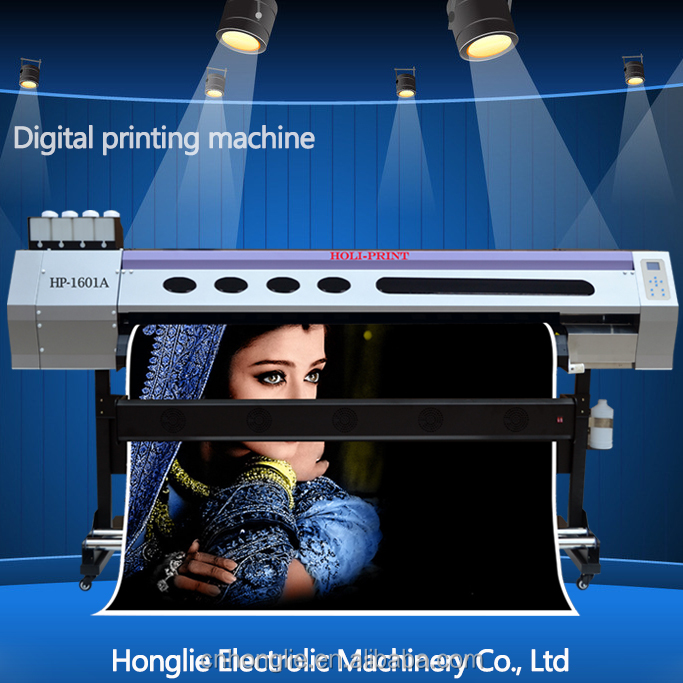 Cheapest price! HOLi-16Z1 1.6M 1440*1440dpi large format solvent printer for Banner, Vinil, Flex Banner, Wallpaper, Backlit Film