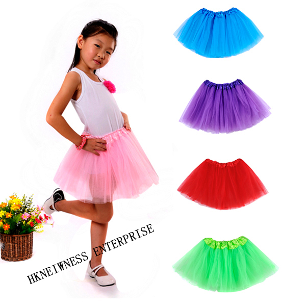 Billig Großhandel Multicolor Flauschigen Tanzen Pettiskirt Baby Mini Tutu Rock