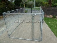 Ornamental dog kennel pet dog enclosure run kennel chain link fence stock dog kennel