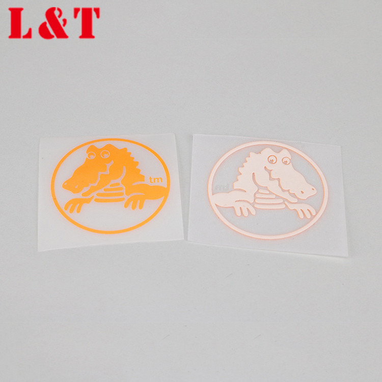 Promotional heat transfer sticker