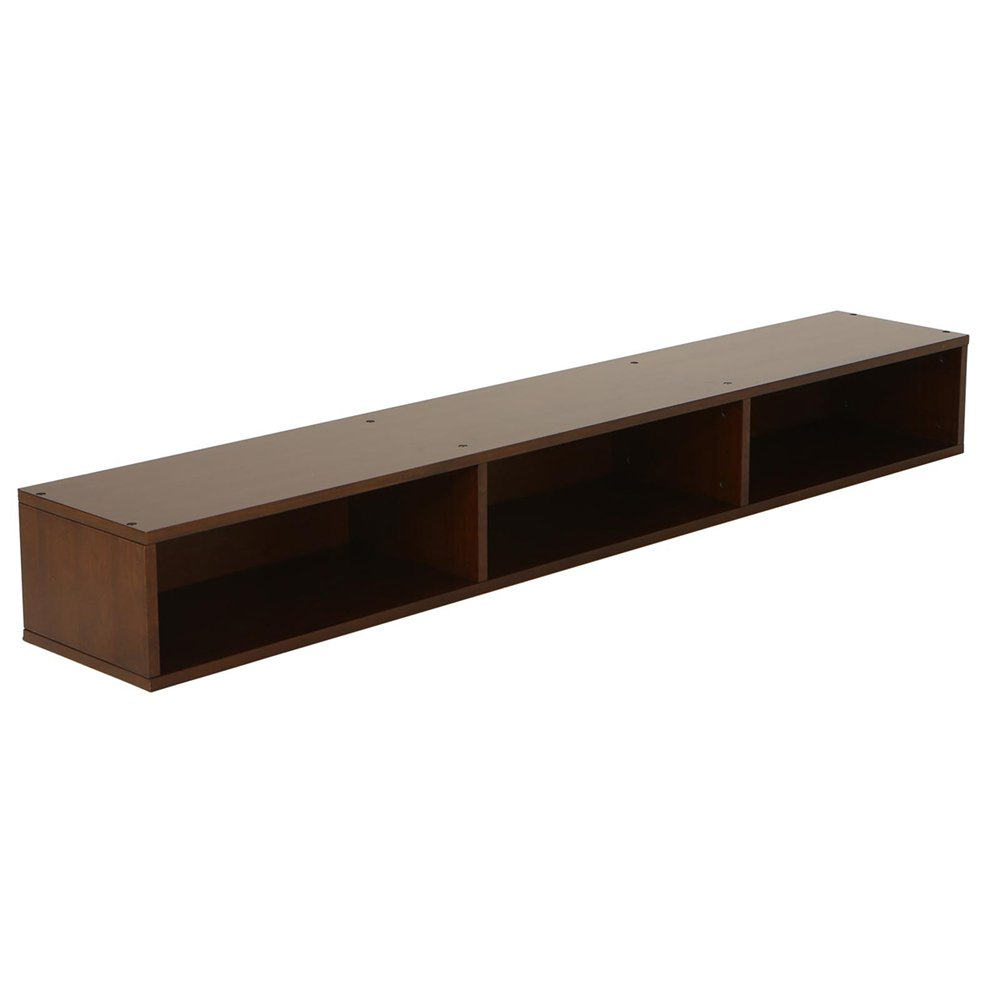 LightHeaded Beds 20293 Open Under Bed Storage, Chestnut