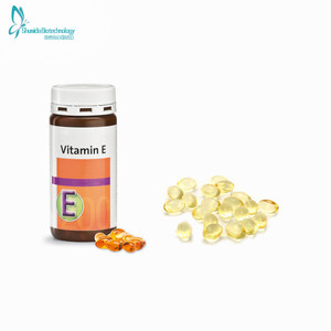 Pure Natural bulk vitamin e hair capsule,vitamin e oil soft capsule