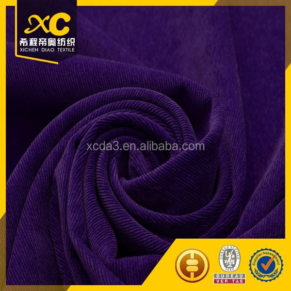 changzhou offer mens corduroy blazer fabric with any color customer need