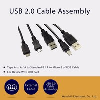 Alibaba Best Black Data Charging Sync Usb 2.0 Type Cable