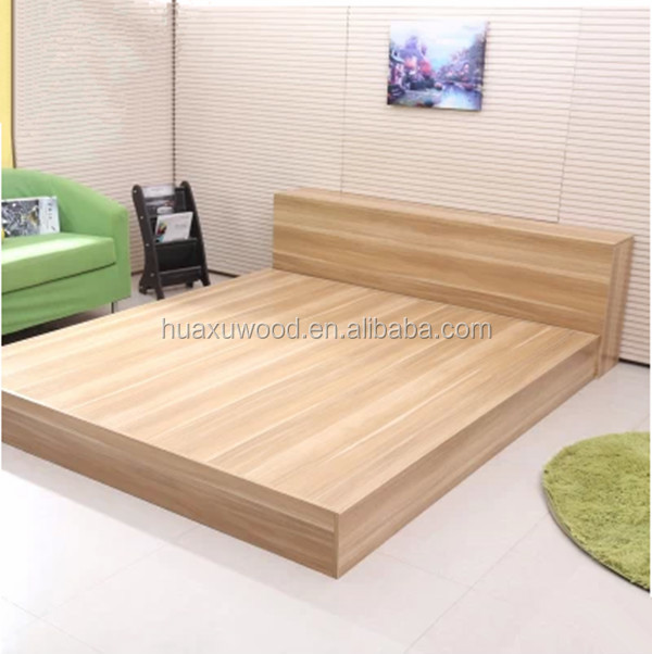 Hx Mz209 Wood Style Bedroom Furniture Wood Bed