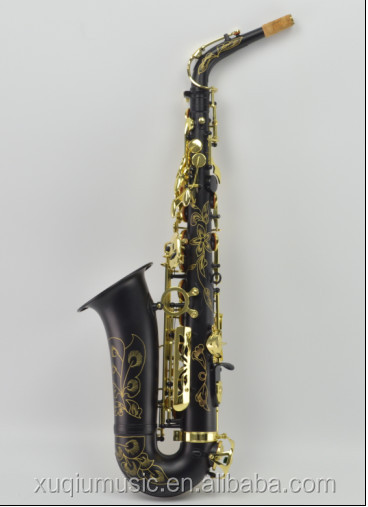 XAL1100 Chinese Black Body Colored Alto Saxophone