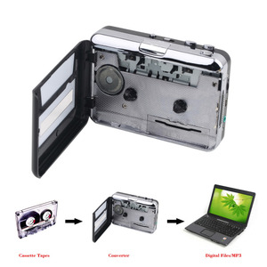 Factory USB2.0 Portable Tape to PC Super Cassette To MP3 Audio Music CD Digital Player Converter Capture Recorder