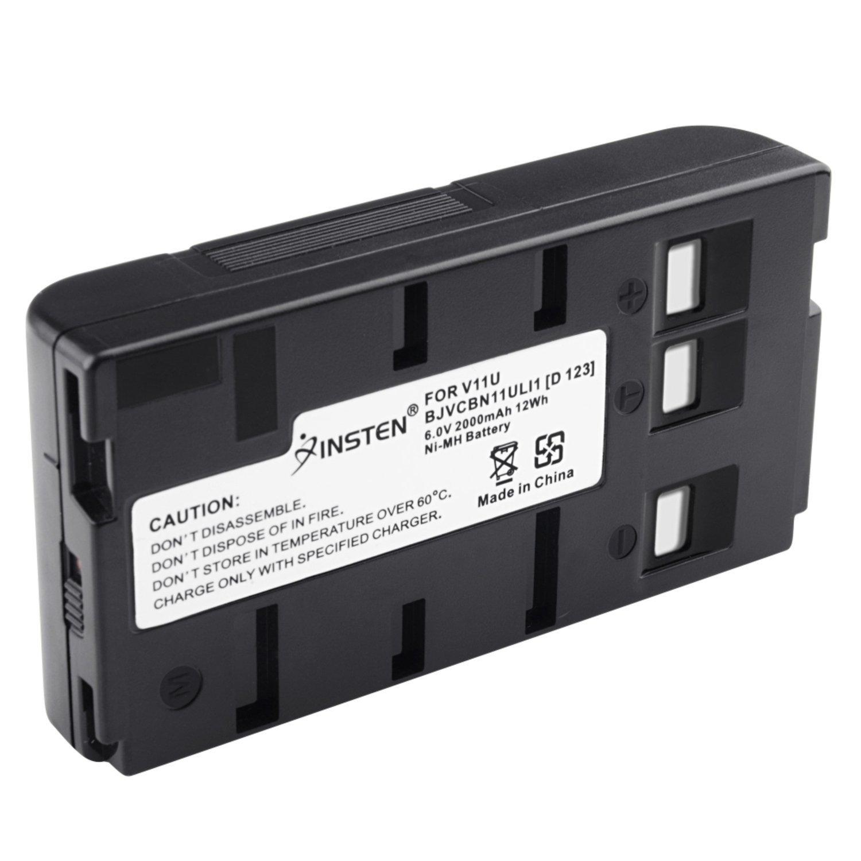 Insten Replacement Ni-mh Battery Compatible with JVC BN-V11U / PANASONIC PV-BP15 PV-BP17 usa Digital Camera