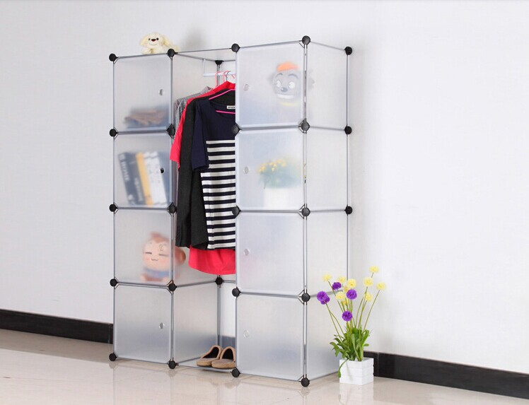 DIY Modular Cube Storage Cabinet System Rack Shelf Wardrobe Box Storage (FH AL0040