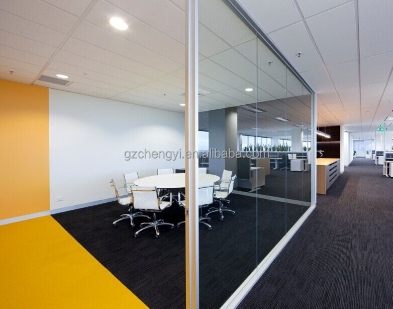 Modular Interior Office Partition Wall Systems For Modern Office