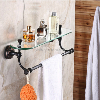 Wholesale And Retail Luxury Bathroom Shelf Oil Rubbed Bronze Flower ...