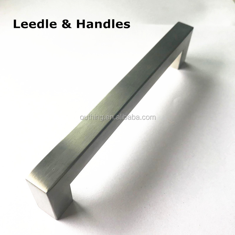 stainless steel 201 & 304 solid hollow drawer SS handle
