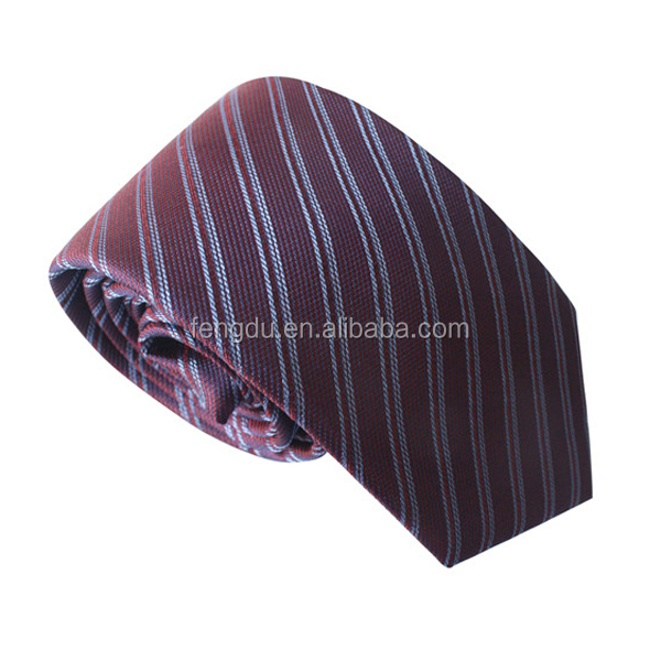 classic striped silk long mens ties