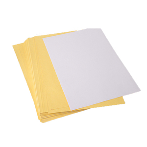 China Supplier Cheapest A4 Paper 80gsm Gummed Sheet Packing Labels Self Adhesive Paper Mirror Coated Paper Roll