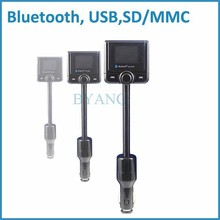 Bluetooth car kit a2dp stereo fm tranmistter mit lcd-bildschirm
