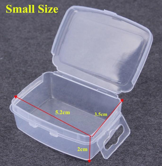 5cm Small Pp Eco-friendly Plastic Storage Box Kids Diy Nail Art Kits ...