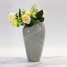 Gray Ceramic Floral Containers Pottery Vase Designs