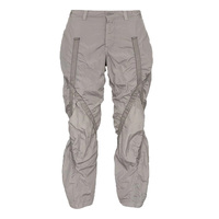 OEM new fashion lightweight Strap Embellished Trousers straight leg cargo pants mens