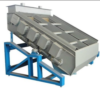 Electromagnetic High Frequency Vibrating Screen For Sand & Cement ...