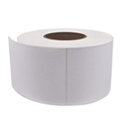 Wholesale Blank White Direct Thermal Barcode Paper Labels Sticker Rolls