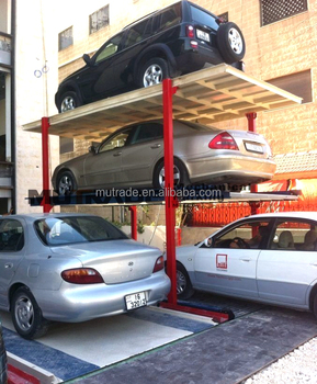 4 Post Multi Level Car Stacker Basement Parking System Buy 4 Post