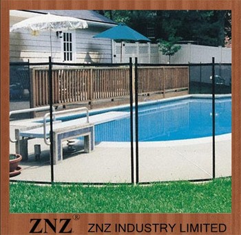 Easy To Install Hot Selling Backyard Portable Pool Fence/Kiddie Fence  Outdoor