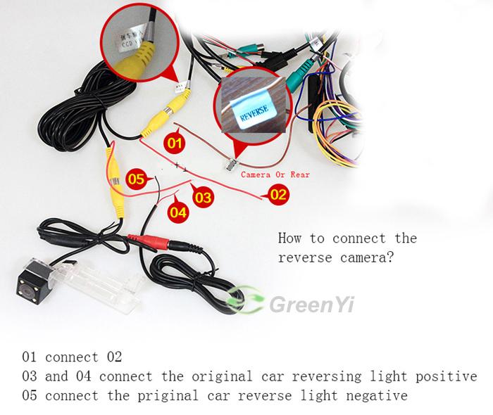 Новый 6 м RCA видео кабель для автомобильная камера заднего вида с соединение монитора автомобиля триггера кабеля 6 м между мужчинами видеонаблюдения аудио / видео кабель