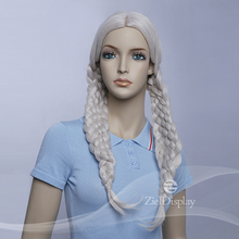Realistic Mannequin Display Synthetic Cosplay Braid Wig