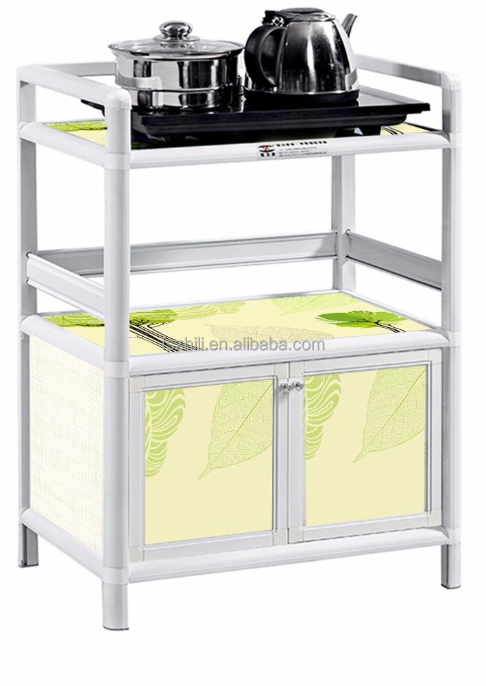 el ms nuevo diseo moderno gabinetes de cocina de aluminio del gabinete de cocina de aluminio
