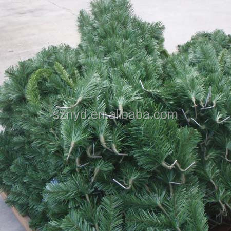 wholesale mountain king outdoor giant artificial metal frame christmas tree with pvc leaves - Mountain King Christmas Trees