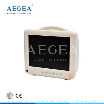 AG-BZ014 hospital rechargeable multi-parameter lithium battery ambulance patient monitor
