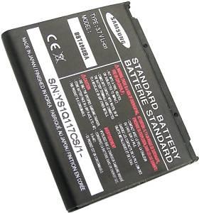 Samsung A900 SPH-A900 T809 SGH-T809 Gloss U440 SCH-U440 A900M D820 SGH-D820 OEM Cell Phone Standard Battery BST4968BAB/STD 800 mAh