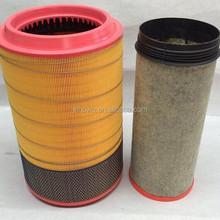 Truck Air Filter K2841 WG9725190102 for Sinotruk Howo parts