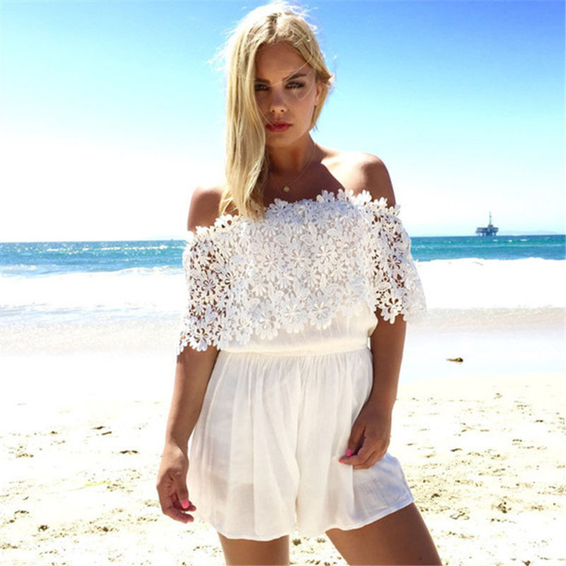 Cheap Strapless Jumpsuit White Find Strapless Jumpsuit White Deals