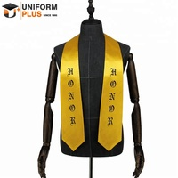 Wholesale printed shiny graduation stoles and sashes